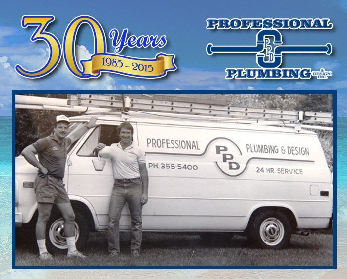 Professional Plumbing & Design Celebrates 30 Years of Excellence!