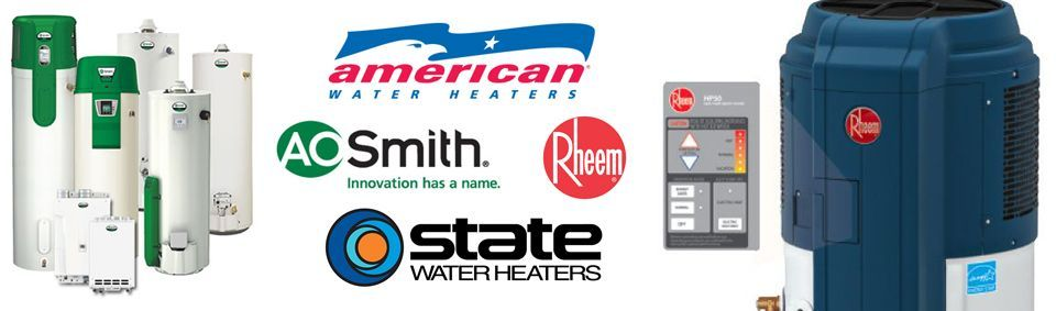 Professional Plumbing & Design offers Hybrid Gas & Electric Water Heaters from top manufacturers including American Water Heaters, A O Smith, Rheem and State Water Heaters.